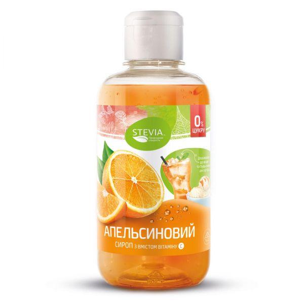 Сироп Стевия без сахара «Апельсин»