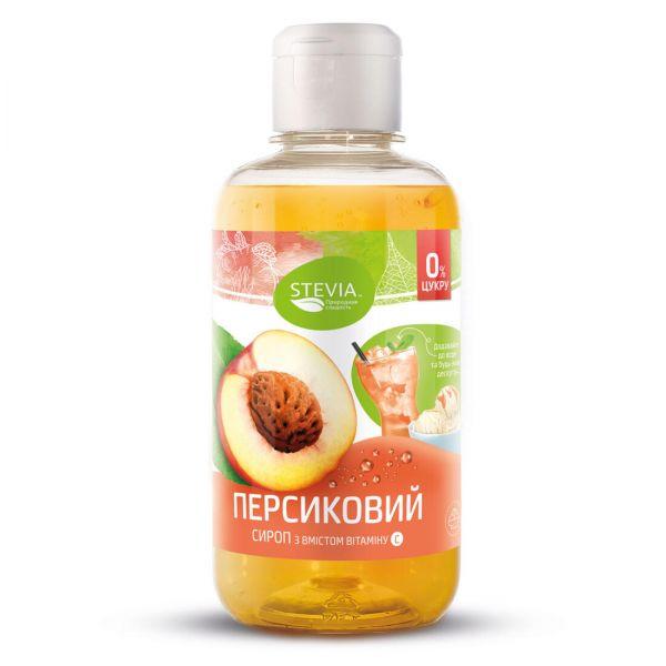 Сироп Стевия без сахара «Персик»